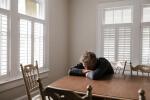 Man sad at table, Chronic Fatigue Therapy, Miami, FL